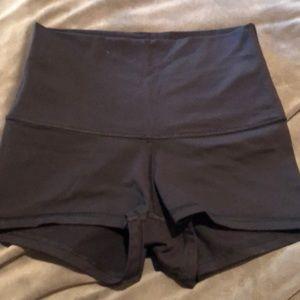 Lululemon high waist size 2 shorts
